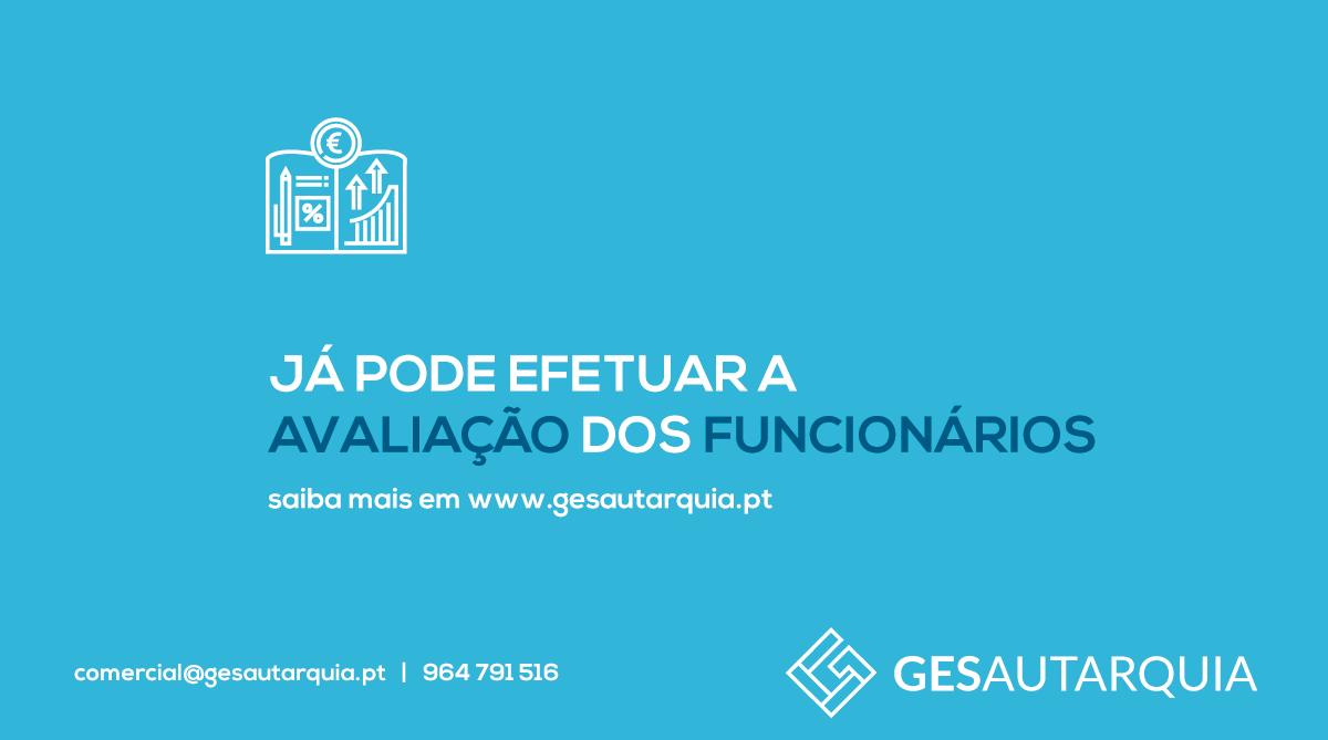 GESSIADAP III - Já pode efetuar a avaliação dos funcionários