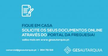Solicite Documentos Através do Portal da Freguesia